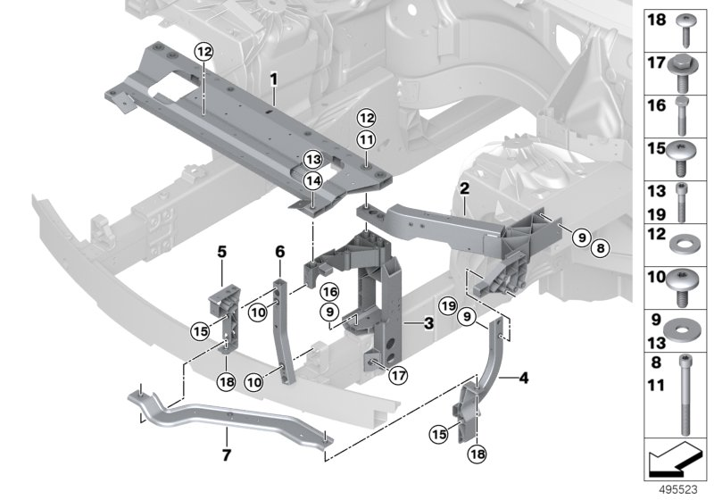 AS original parts 11-1//2 1710 ref N.O.S. 3 pcs. 0363AS 401  51.010.21  stem
