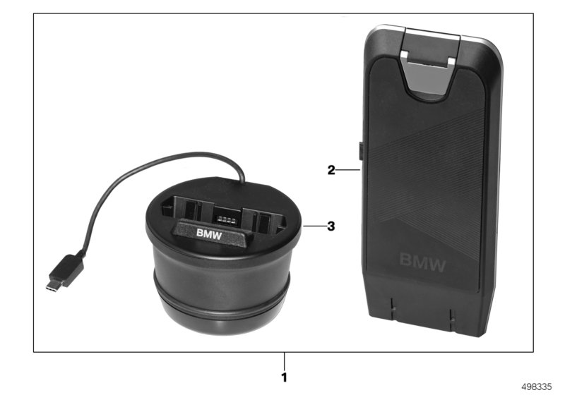 Wireless charging station, universal