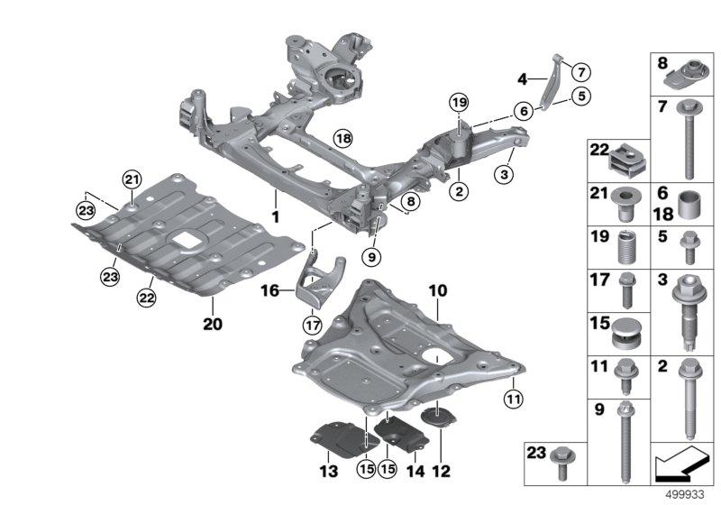H/&r Abe ensanchamiento para bmw 3er e46 346x//Dr 24 = 2x12mm con carril FS placas