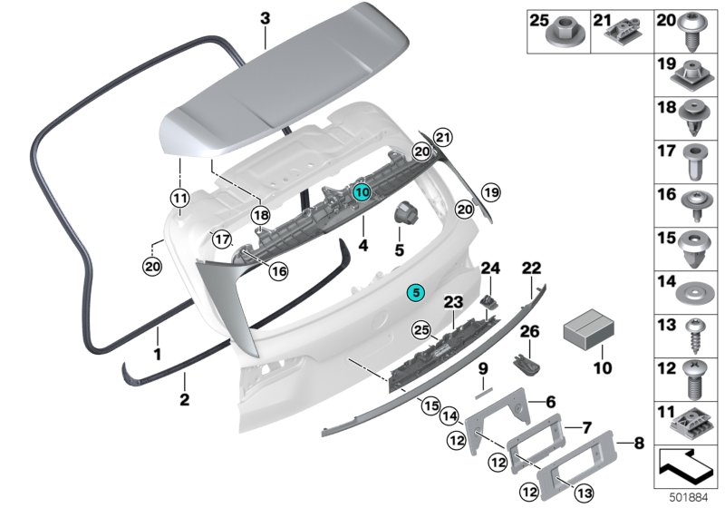/2012/ Connects2/POSACENERE per BMW Serie 3/2005/