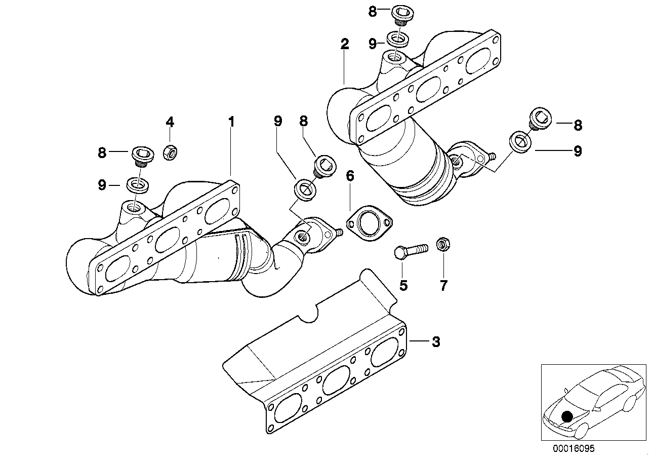 e39 528i exhaust diagram wiring diagrams E39 528I Smashing