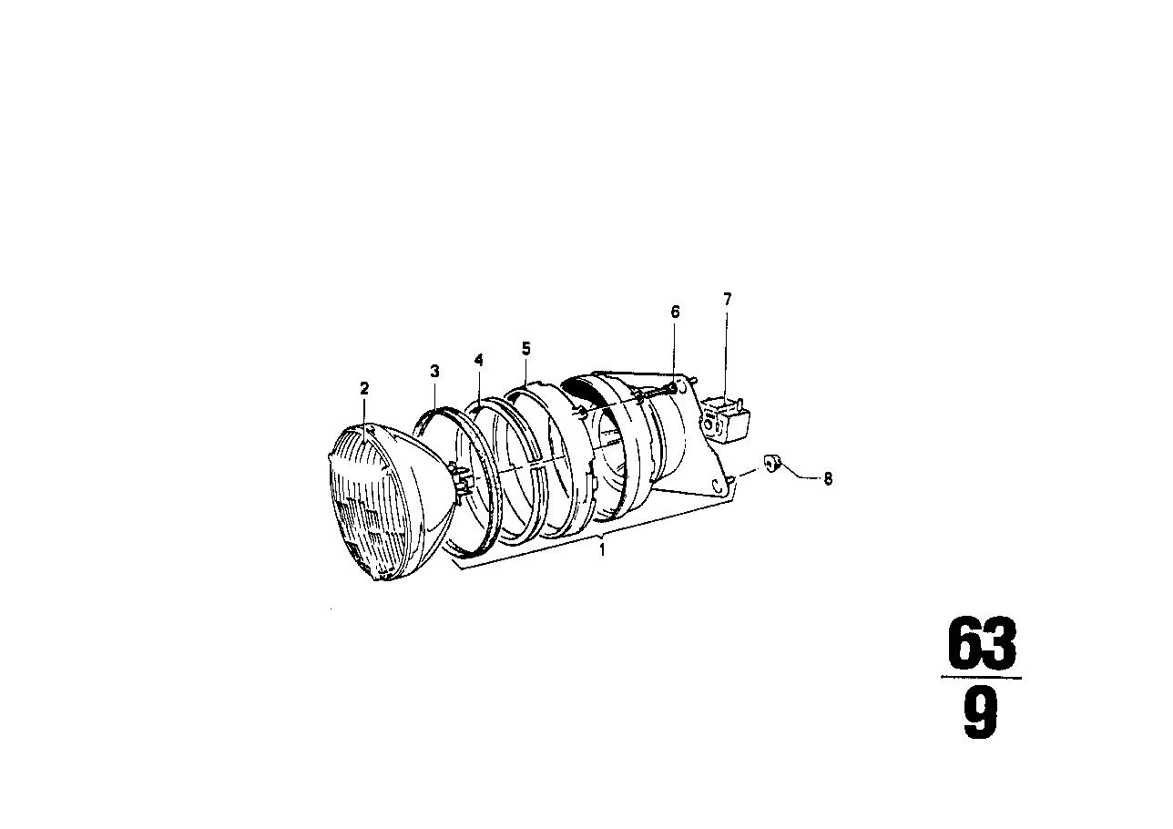Online Bmw Parts Catalog 2002 Tii Wiring Diagram Headlight