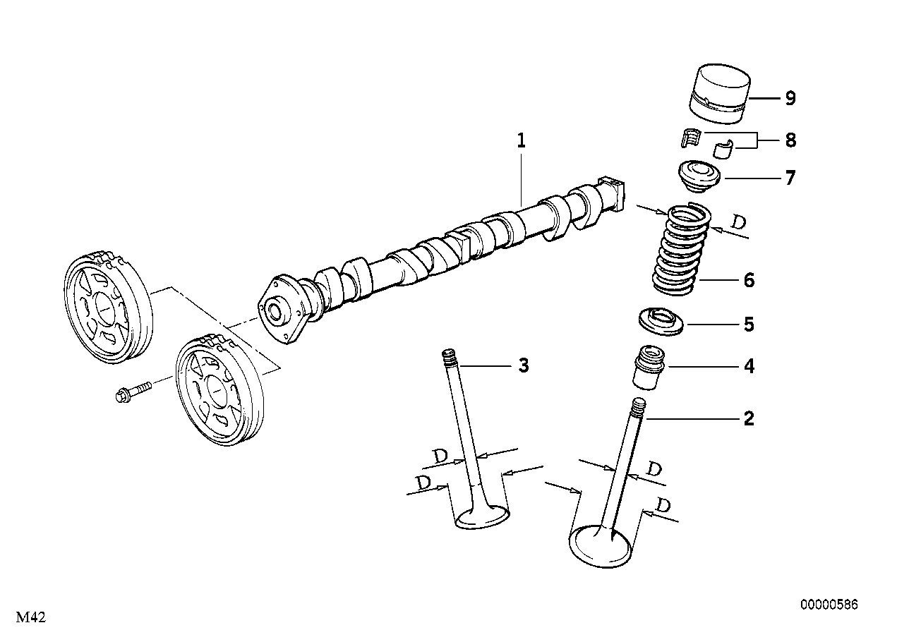 Valve Timing Gear - Cam Shaft