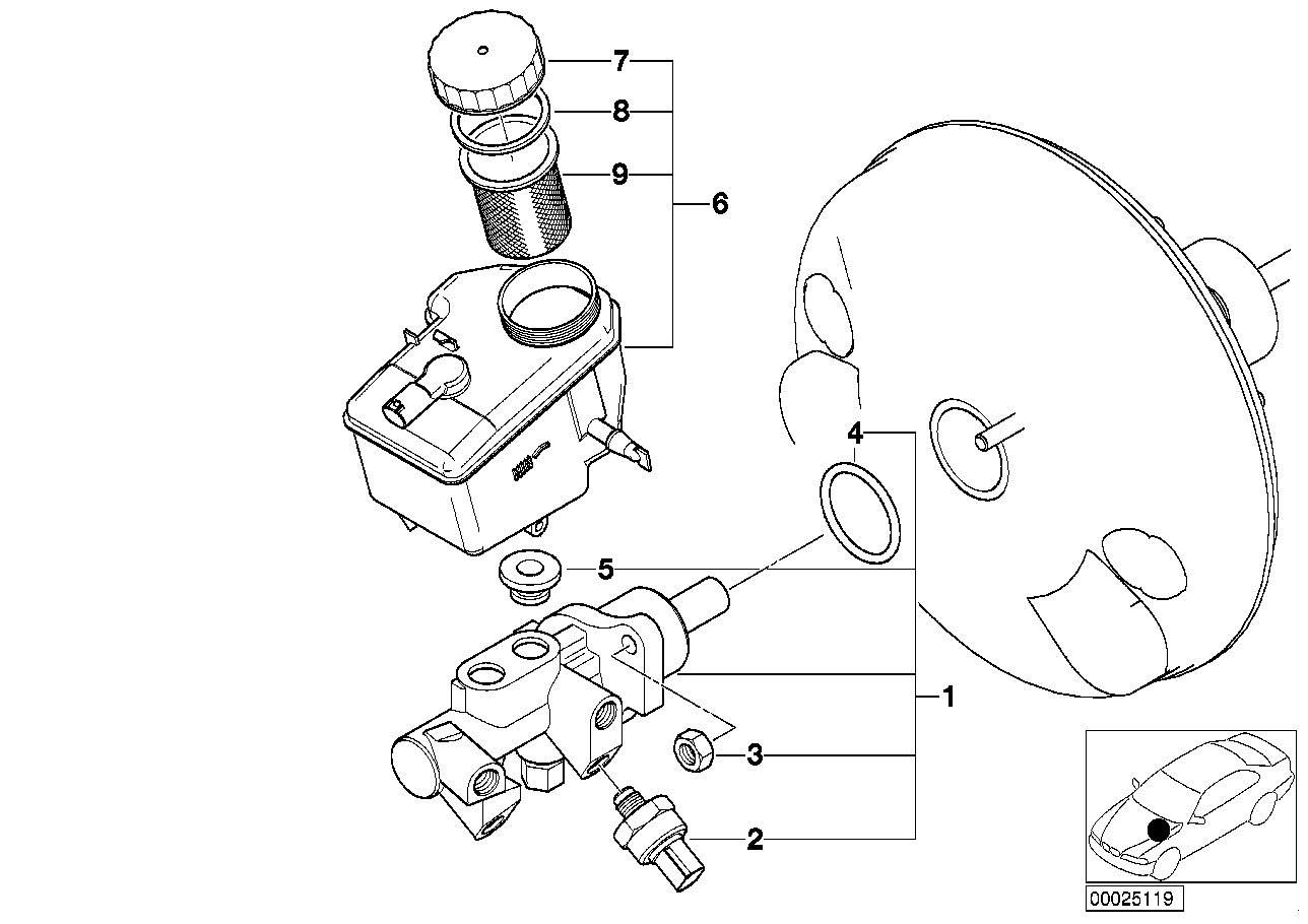 Exzenterschraube exzenterbolzen madre disco bmw 3er e36 e46 z1