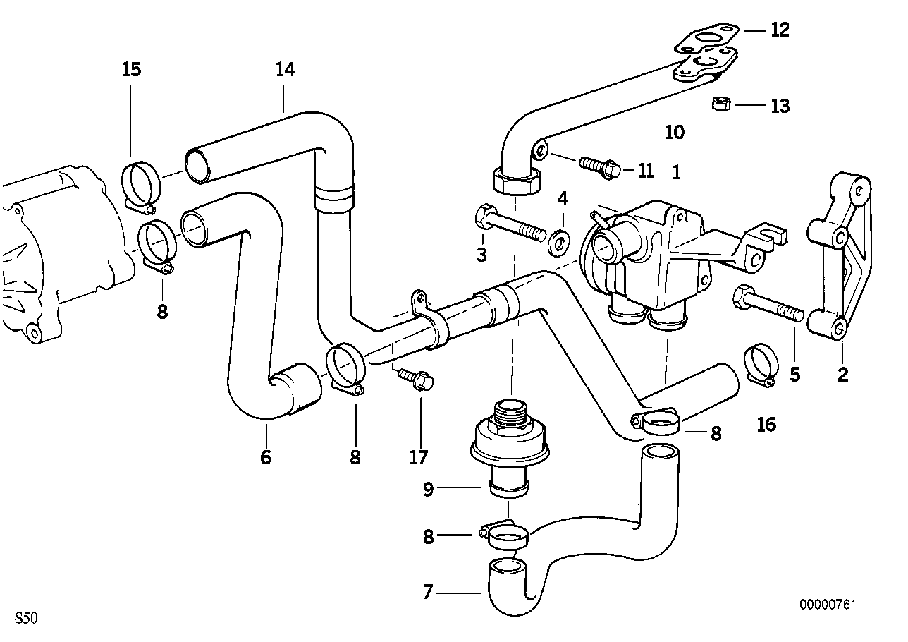 realoem online bmw parts catalog BMW M3 E46 Parts Diagram emission control air pump