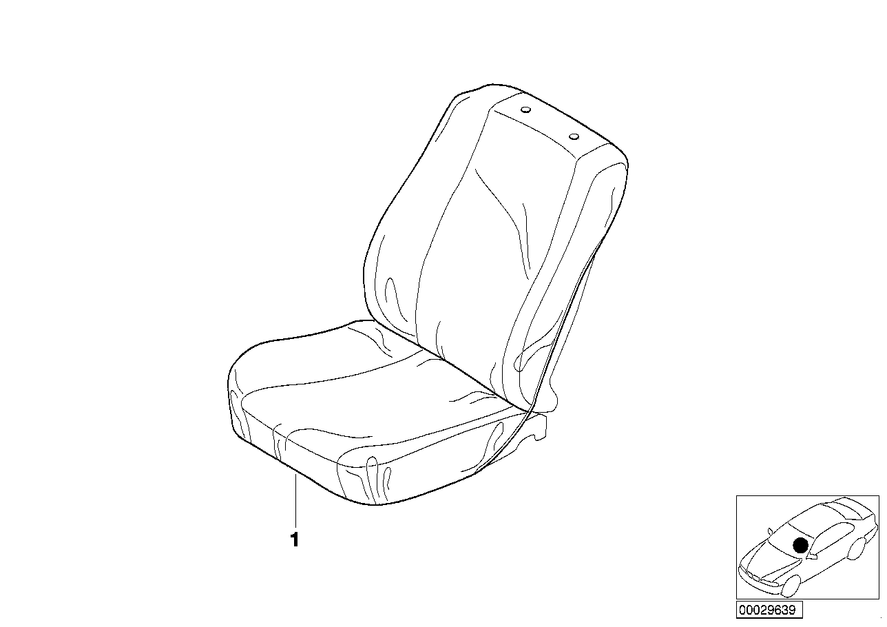Easy-on/Easy-off Seat Cover