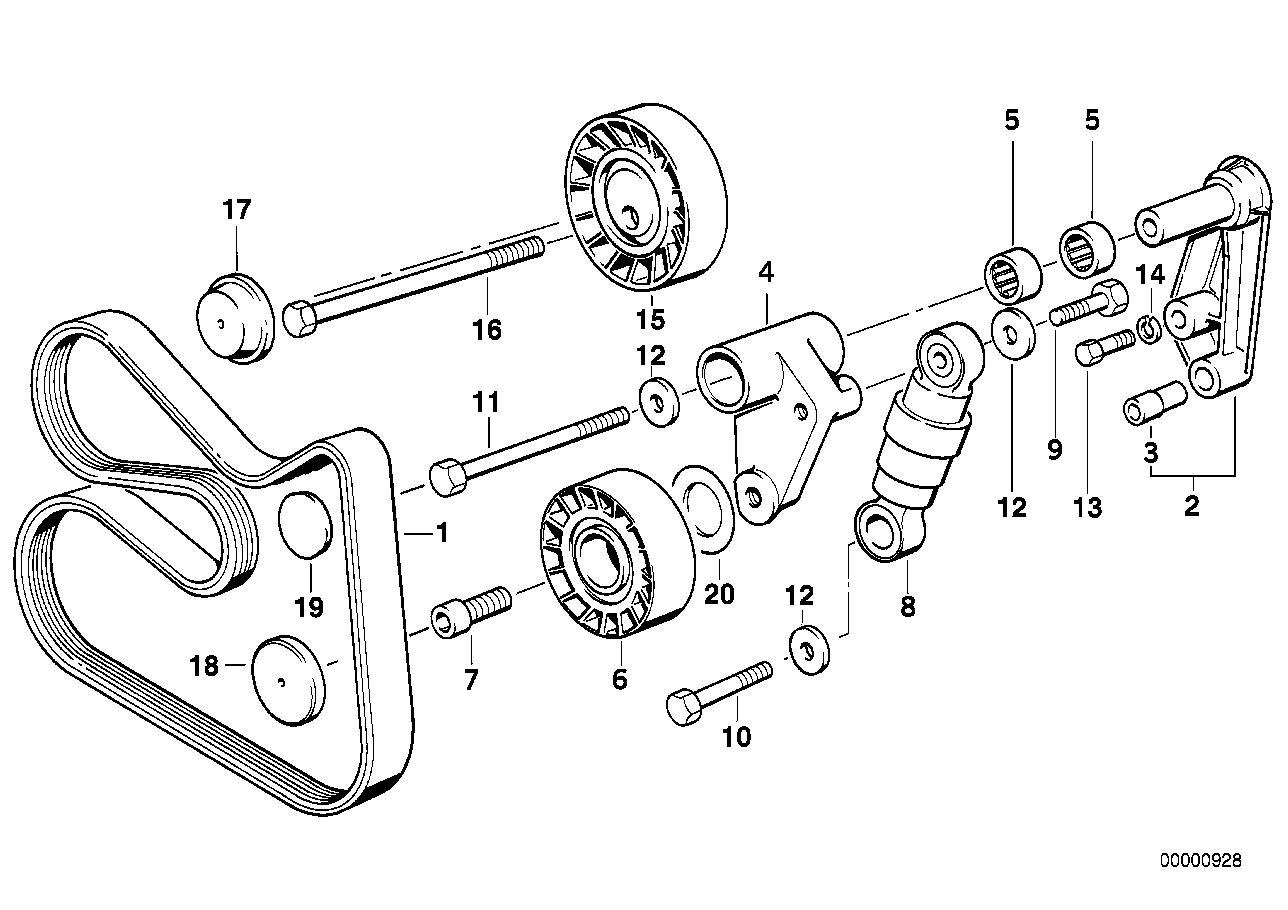 Online Bmw Parts Catalog Playstation 3 Diagram Belt Drive Water Pump Alternator