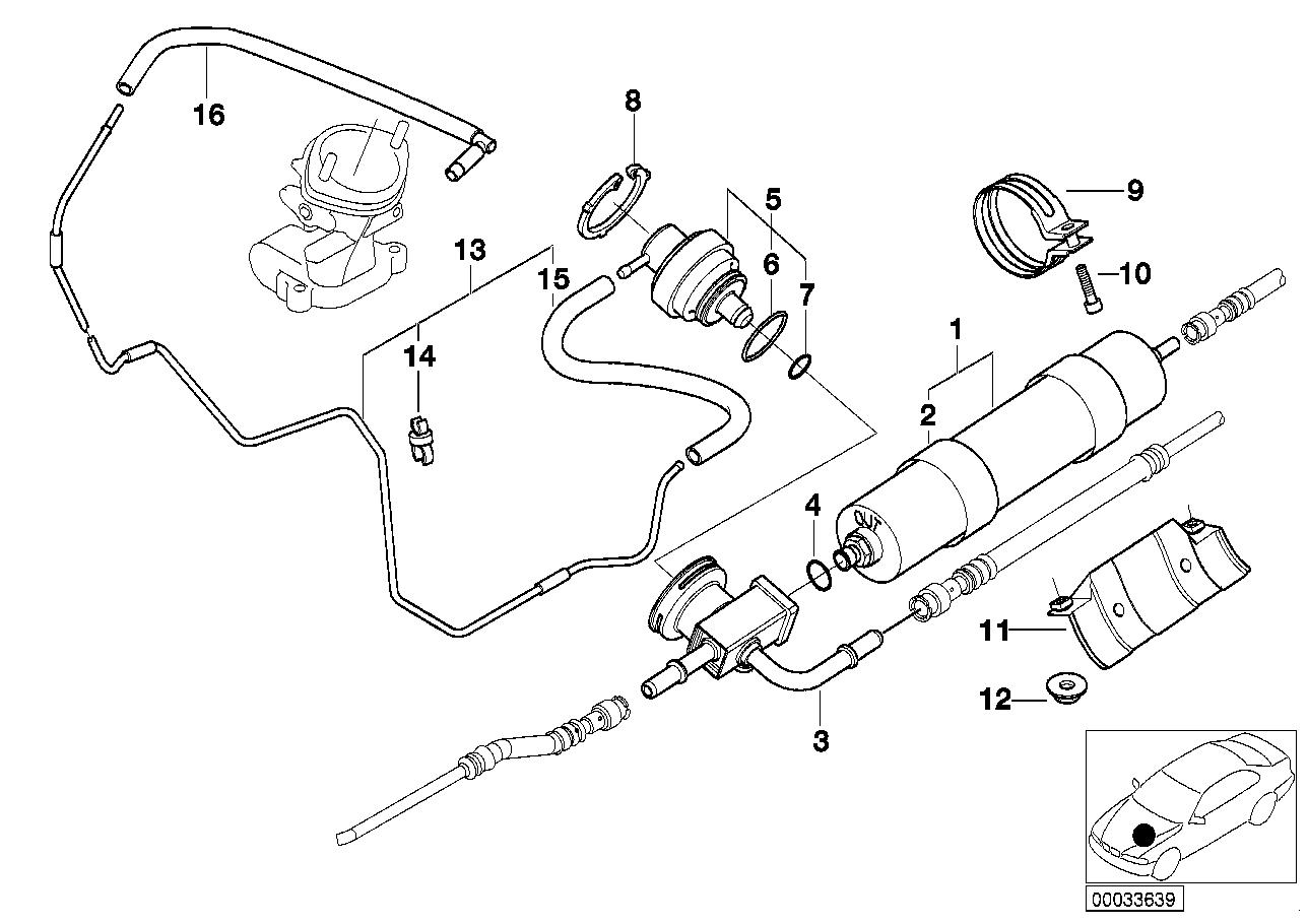 e39 fuel pressure regulator