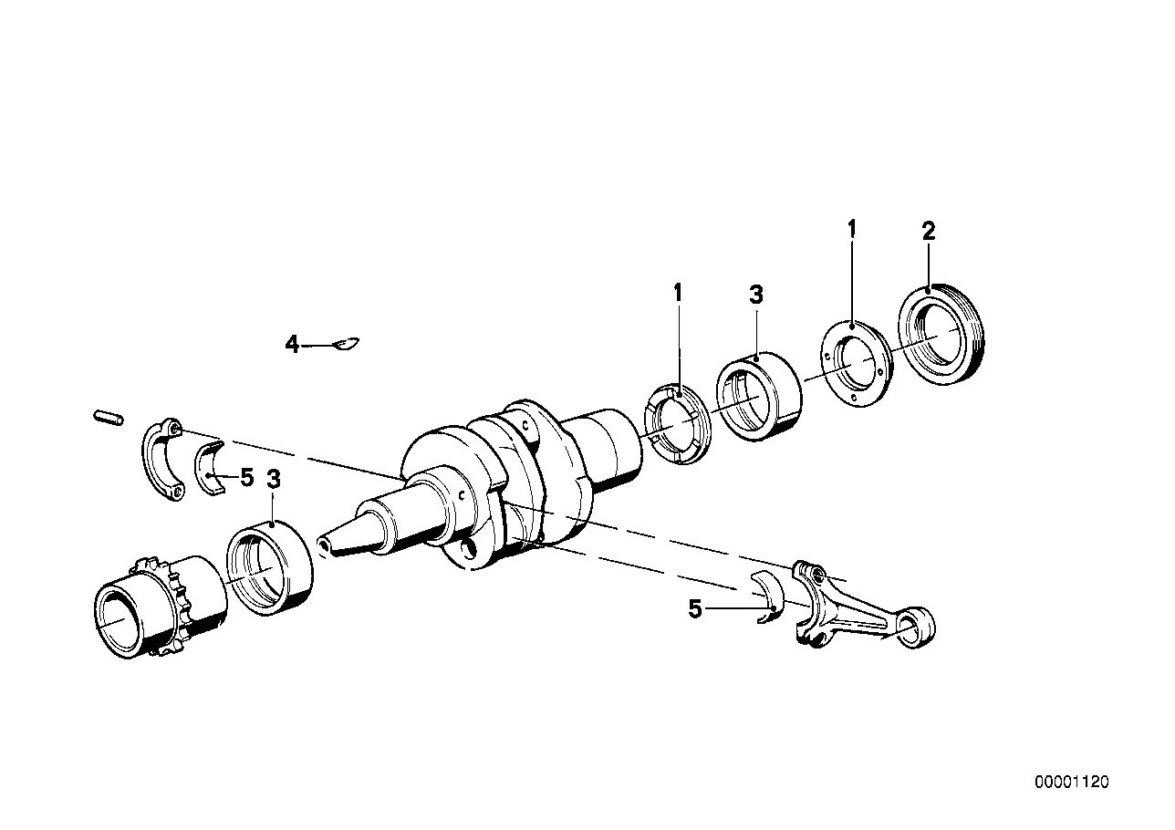 Connecting rod / Connecting rod bearing