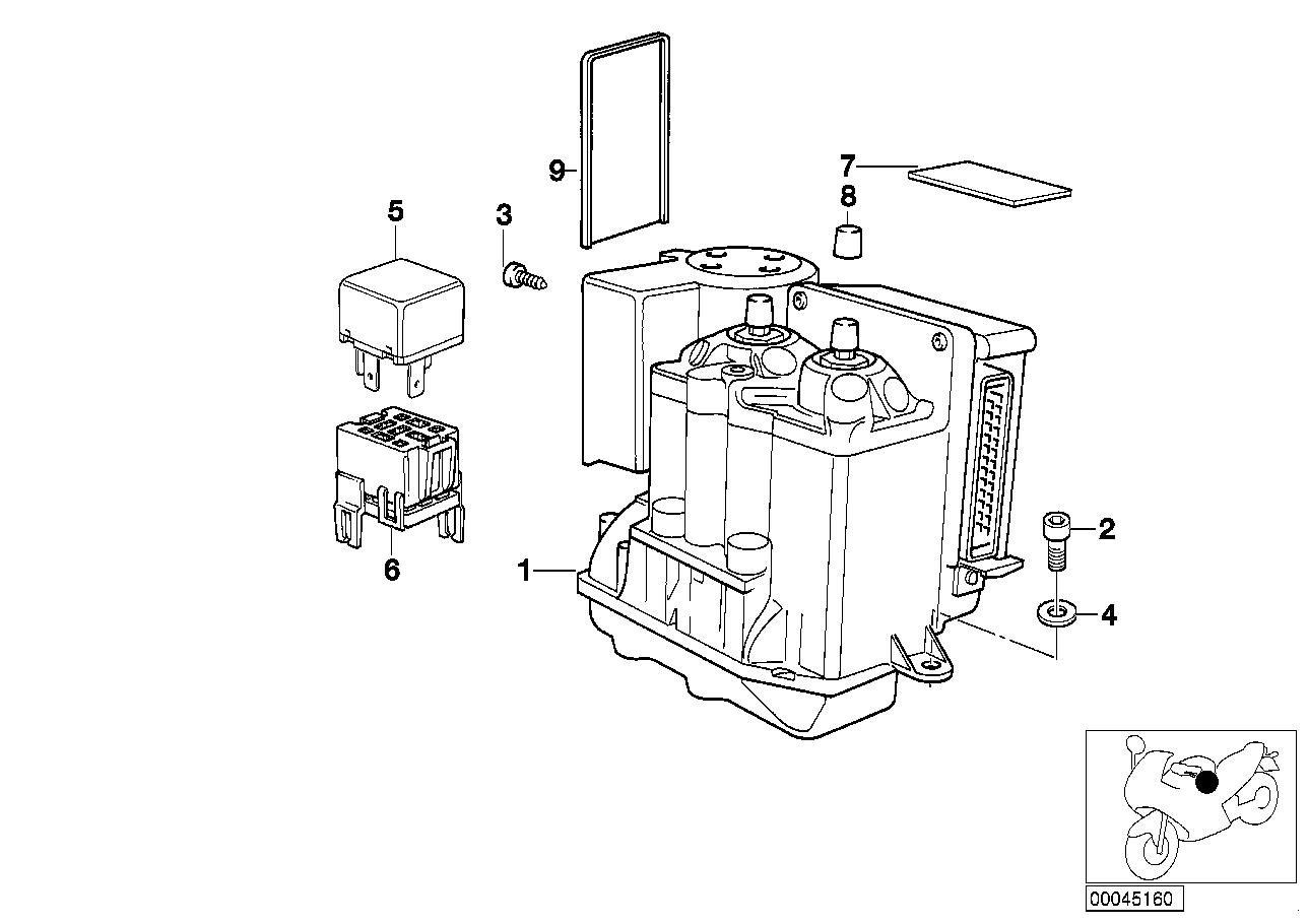 1995/â bis 2000 Luftfilter f/ür CA 125/â JC 24/Â JC26