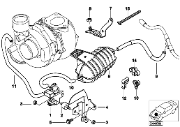 VACUM CONTROL-ENGINE-TURBO CHARGER