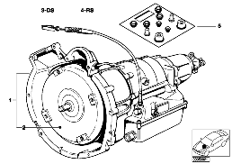 AUTOMATIC GEARBOX 3HP22