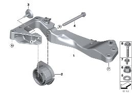GEARBOX SUSPENSION, 4-WHEEL DRIVE