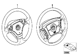 RETROFIT KIT, MULTIFUNCT. STEERING WHEEL
