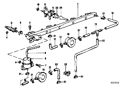 VALVES/PIPES OF FUEL INJECTION SYSTEM