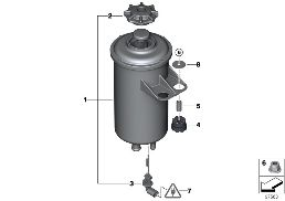 FLUID TANK/SINGLE PARTS/ADAPTIVE DRIVE