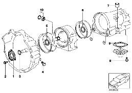 A4S 270R/310R MOUNTING PARTS/GASKETS