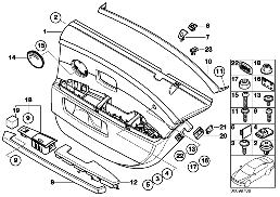 REAR DOOR LININGS-SIDE AIR BAG/LONG