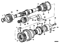 S5D...Z COUNTERSHAFT/REVERSE GEAR
