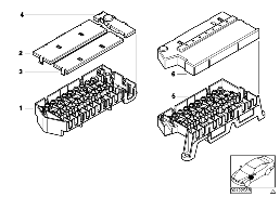 SINGLE COMPONENTS FOR FUSE HOUSING