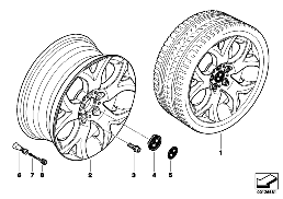 BMW LA WHEEL Y-SPOKE 114
