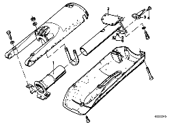 STEERING COLUMN-COLUMN TUBE/ATTACH.P.