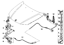 ENGINE HOOD MECHANISM