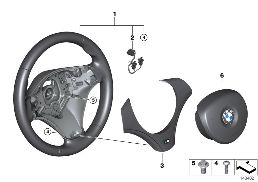 M SPORTS STEER.-WHEEL, AIRBAG, LEATHER