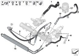POWER STEERING/OIL PIPE/ACTIVE STEERING
