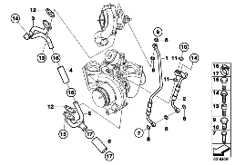 OIL SUPPLY FOR TURBOCHARGER