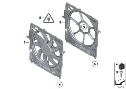 FAN HOUSING, MOUNTING PARTS