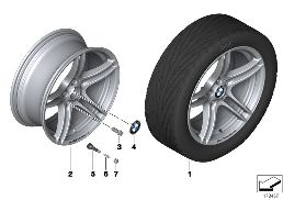 BMW PERFORMANCE LA WHEEL DOUBLESPOKE 313