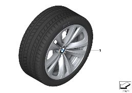 WINTER WHEEL W.TIRE DOUBLE SP.234 -18