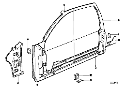 BODY-SIDE FRAME