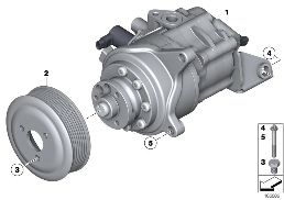 POWER STEERING PUMP/DYNAMIC DRIVE