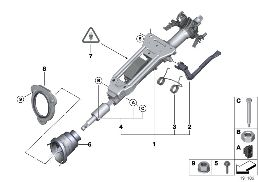 MANUALLY ADJUST. STEERING COLUMN