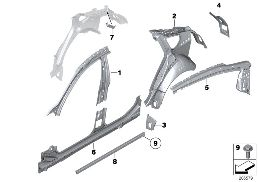 BODY-SIDE FRAME-PARTS