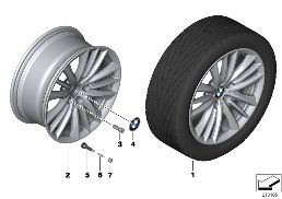 BMW LA WHEEL W-SPOKE 332 - 19''