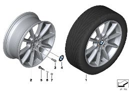 BMW LA WHEEL V SPOKE 281 - 20