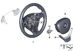 SPORTS ST. WHEEL AIRBAG MULTIF./PADDLES