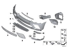PERFORMANCE AERO FRONT SPARE PARTS