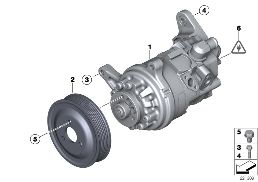 POWER STEERING PUMP/ADAPTIVE DRIVE