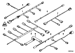 VARIOUS ADDITIONAL CABLE HARNESSES