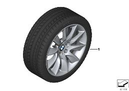 WINTER WHEEL W.TIRE TURBINE SP. 329-18