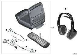DVD-SYSTEM IN REAR COMPARTMENT