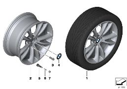 BMW LA WHEEL V-SPOKE 366 - 19''