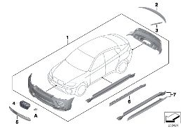 M PERFORMANCE AERODYNAMICS ACC.PARTS