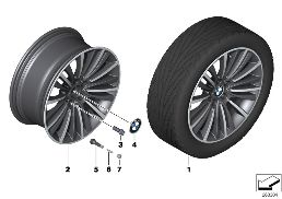 BMW LA WHEEL W-SPOKE 423 - 19''