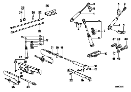 ELECTRO-HYDRAULIC FOLDING TOP PARTS