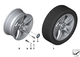 BMW LA WHEEL STREAMLINE 364 - 18''
